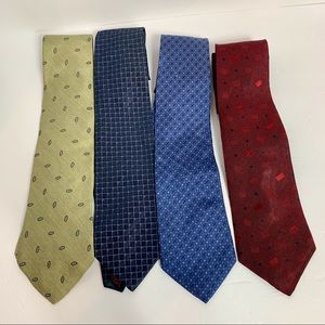 Lot of 4 Tommy Hilfiger Ties